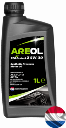 AREOL ECO Protect Z 5W30 (1L) масло моторное! синт.\ACEA C3,API SN,MB 229.51/229.52,VW 505.00/505.01